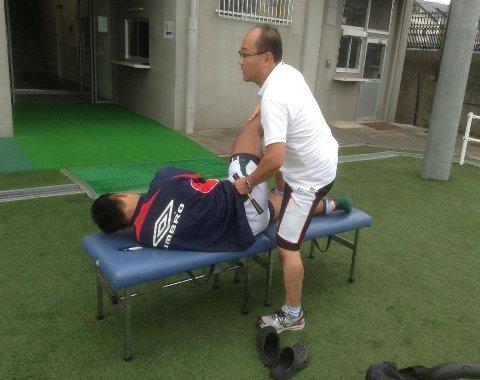 教育大学選手治療