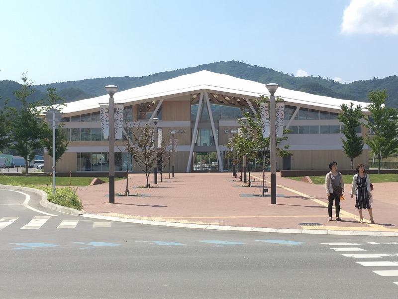 601女川駅舎