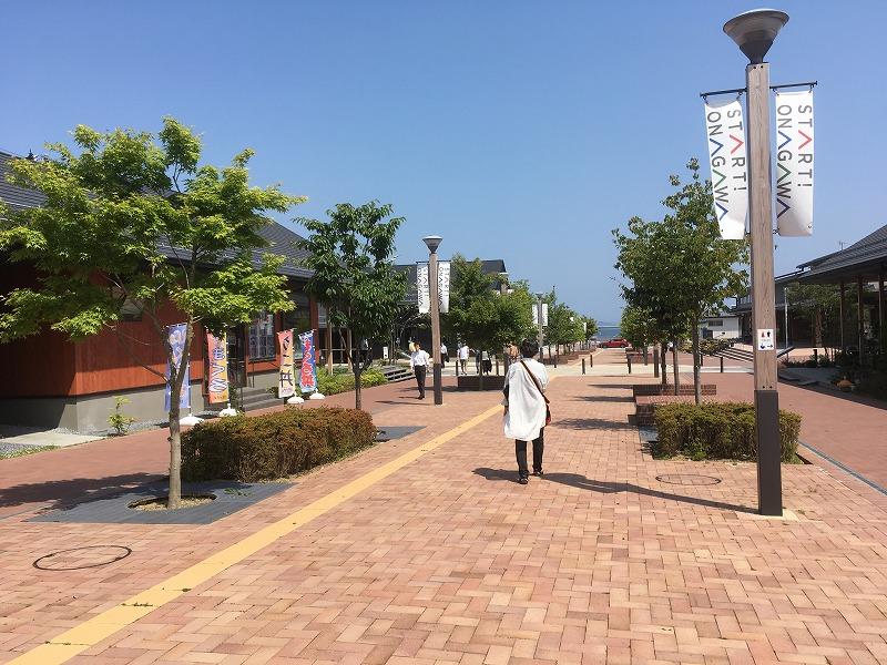 602女川駅前商店街