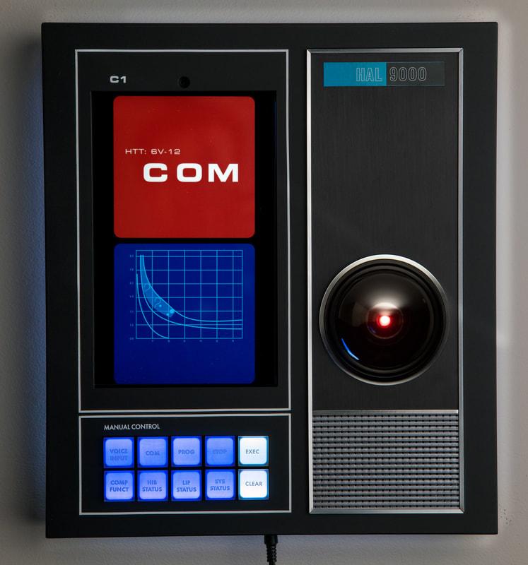 「2001年宇宙の旅」 HAL 9000レプリカ発売/Master Replicas Group