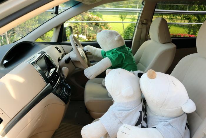 運転席~♪