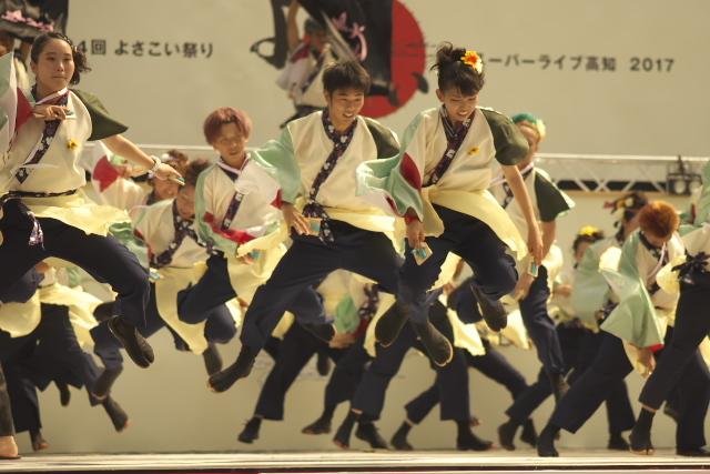 64回よさこい祭り 中央公園競演場 Ⅱ