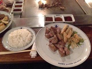 肉食べた!