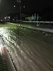 小田川(児島)浸水