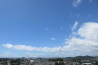 6月の大山の青白大遠景