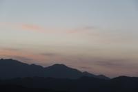 7月1日の大山夕焼け