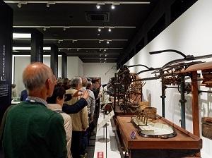 2018年11月会報野外学習会(蚕糸博物館3)