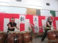 職員による和太鼓演奏