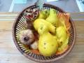 旬の花梨と柘榴