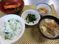 七草粥と納豆汁で胃腸をリフレ~~~ッシュ☆