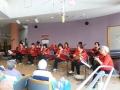 弦楽器マンドリンによる美しいハーモニーが会場に響きました
