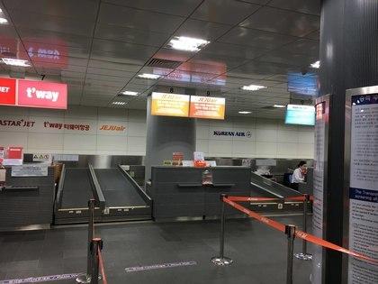 ソウル駅カウンター