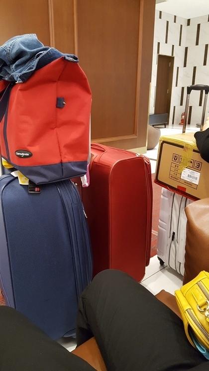 私たちの荷物、、、