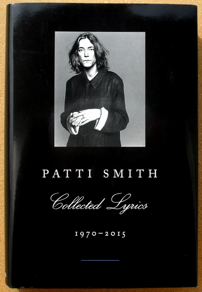 patti smith - collected lyrics 01