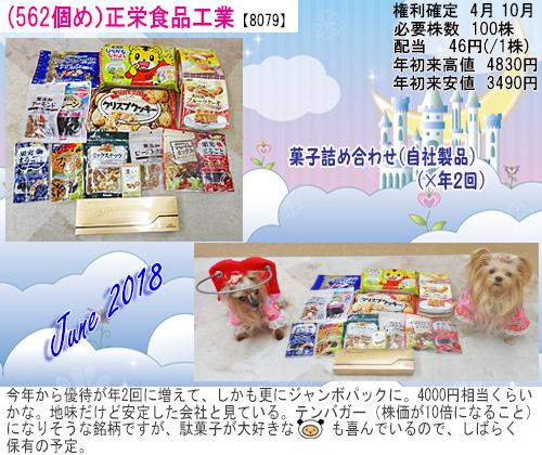 (562)2018年06月到着正栄食品 (0)