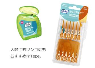 デンタルフロスと歯間ブラシ201807