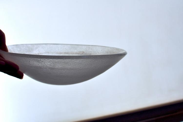 オオタ硝子研究室/鉢 2本線入りb