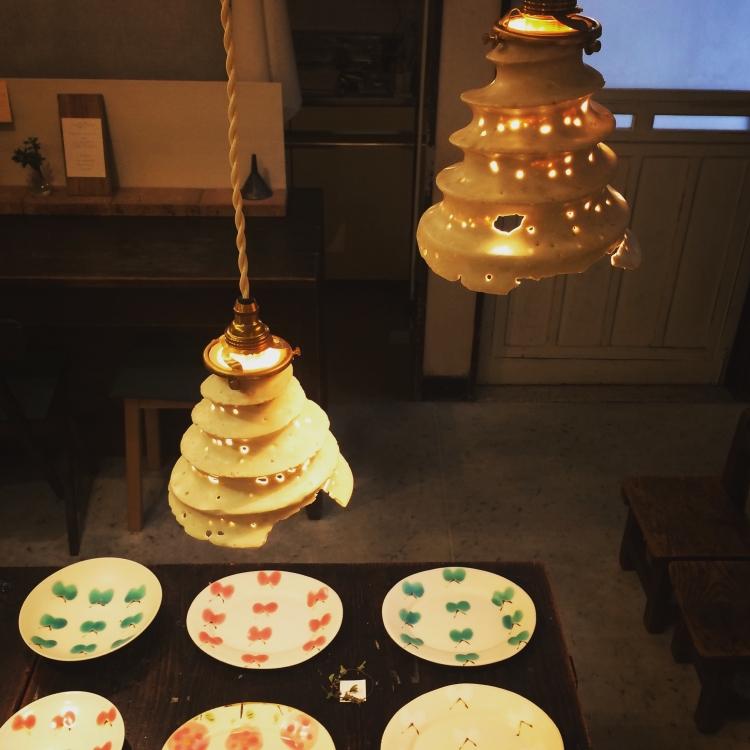 石木文/虫喰いランプ