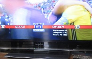 メキシコは負けたのに・・?