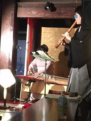 尺八と琴の演奏会