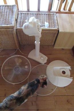 組み立て式扇風機