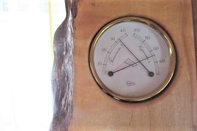 午後3時の室温と湿度