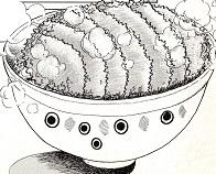 味吉陽一特製超極厚カツ丼図