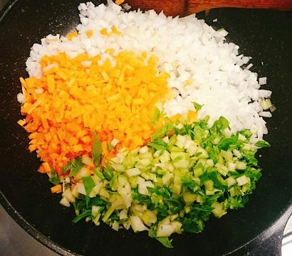 味吉陽一特製ナス巻きミートソーススパゲティ&丸井善男特製クルミ入りミートソーススパゲティ2
