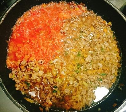 味吉陽一特製ナス巻きミートソーススパゲティ&丸井善男特製クルミ入りミートソーススパゲティ6