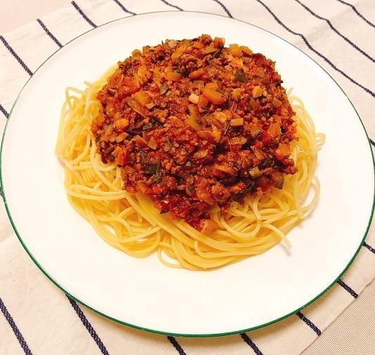 味吉陽一特製ナス巻きミートソーススパゲティ&丸井善男特製クルミ入りミートソーススパゲティ21