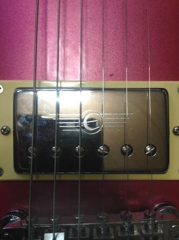 弦の位置が適正になりました