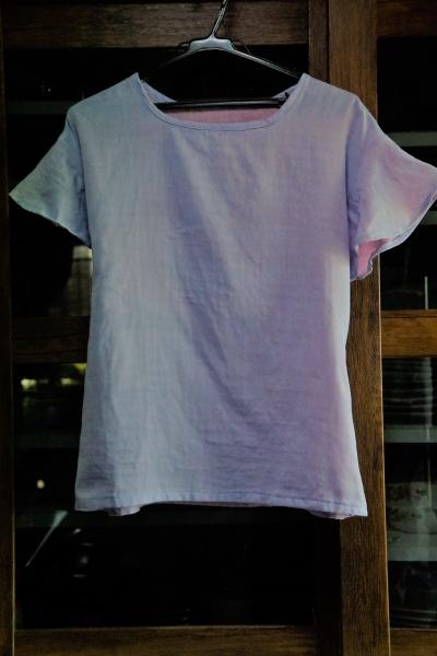 ダブルガーゼのシャツ プルオーバー