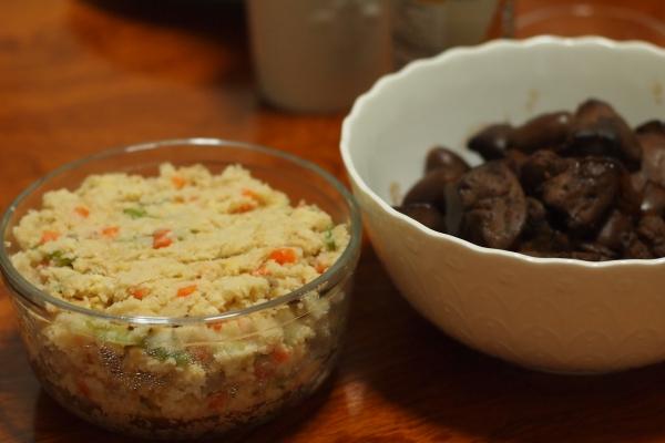 おから 卯の花 鶏肝の山椒煮