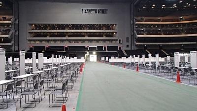 20180720彩の国進学フェア前日準備
