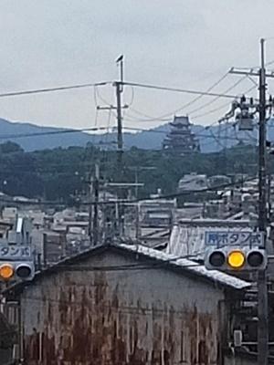 伏見桃山城を遠くに見る1806