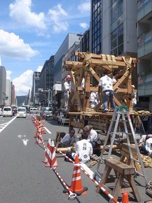祇園祭鉾建て1807