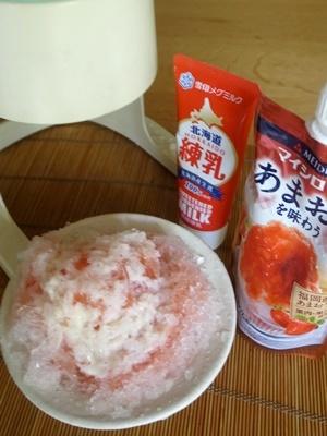 かき氷イチゴミルク1807