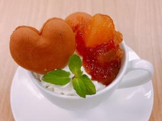 カップケーキアップルシナモン