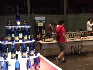 ワイン会場