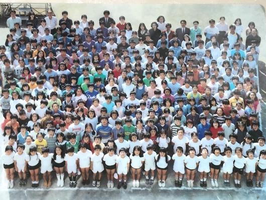 北落合小学校開校20周年記念