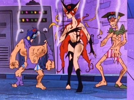 ヤッターマン1977  ドロンジョ様の胸裸ヌードパンツ107