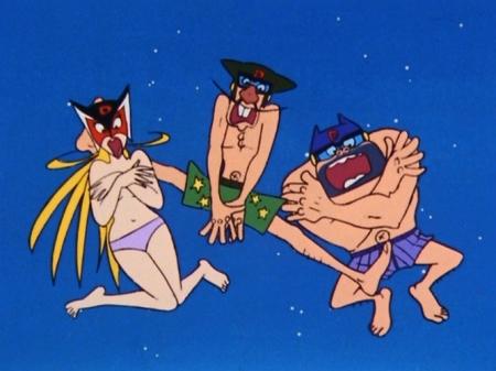 ヤッターマン1977  ドロンジョ様の胸裸ヌードパンツ108