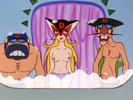 ヤッターマン1977  ドロンジョ様の胸裸ヌードパンツ乳首109