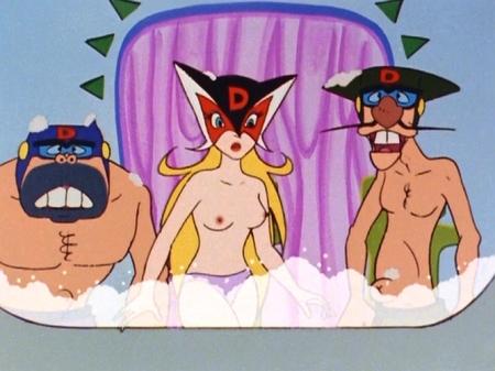 ヤッターマン1977  ドロンジョ様の胸裸ヌードパンツ乳首110
