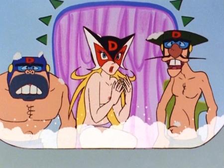 ヤッターマン1977  ドロンジョ様の胸裸ヌードパンツ乳首111