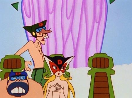 ヤッターマン1977  ドロンジョ様の胸裸ヌード114