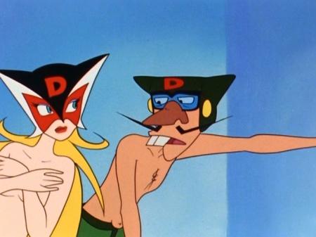 ヤッターマン1977  ドロンジョ様の胸裸ヌード115