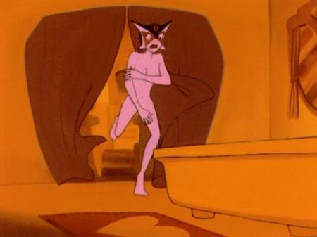 ヤッターマン1977  ドロンジョ様の全裸ヌード125