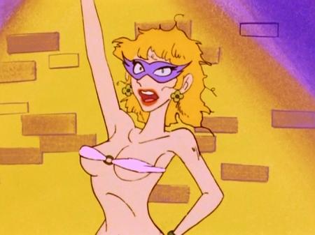 ヤッターマン1977  ドロンジョ様の胸裸ヌード下着姿ブラジャー134