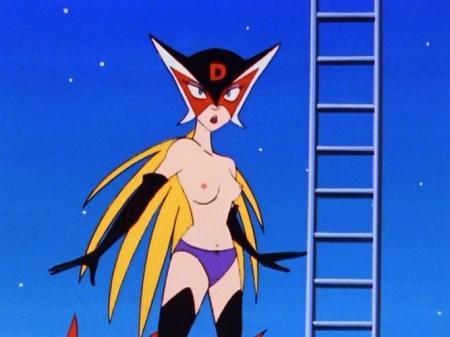 ヤッターマン1977  ドロンジョ様の胸裸ヌード乳首パンツ99